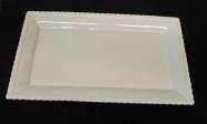 """Ceramic Platter / 16.5"""" X 10"""""""